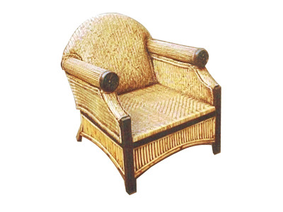 Surabaya Rattan Arm Chair
