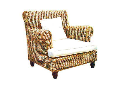 Zanzibar Wicker Arm Chair