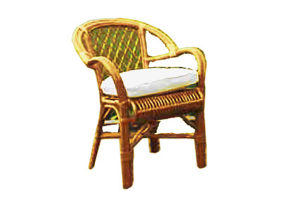 Maryland Rattan Arm Chair