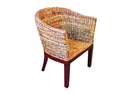 Chrone Wicker Arm Chair