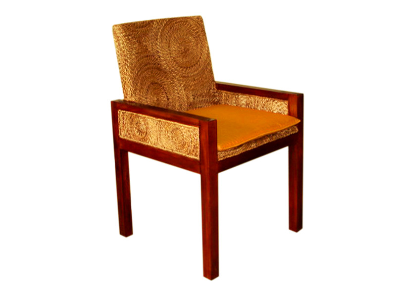 Laurent Wicker Arm Chair