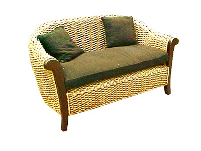 Magdalena Wicker Sofa 2 Seaters