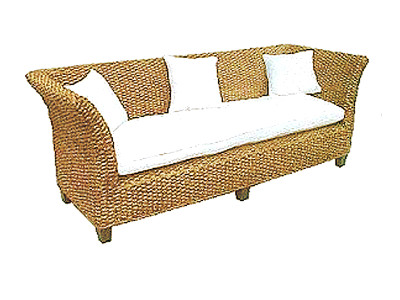 Bahary Wicker Sofa 3 Seaters