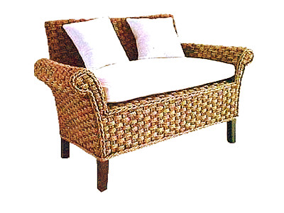 Carusel Wicker Sofa 2 Seaters