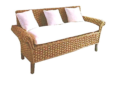 Carusel Wicker Sofa 3 Seaters
