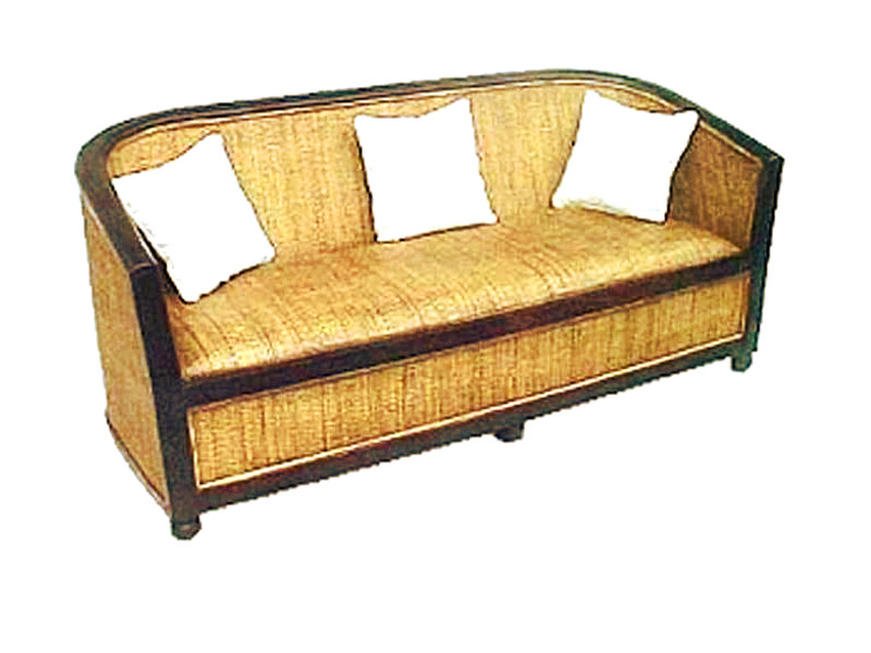 Lorong Rattan Sofa 3 Seaters