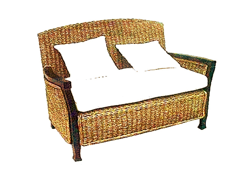 Roberto Wicker Sofa 2 Seaters