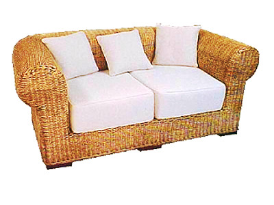 Valery Wicker Sofa 2 Seaters