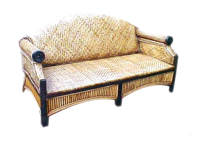 Surabaya Rattan Sofa 3 Seaters