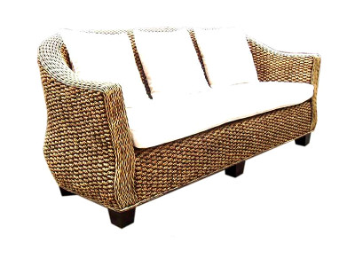 Sevilla Wicker Sofa 3 Seaters