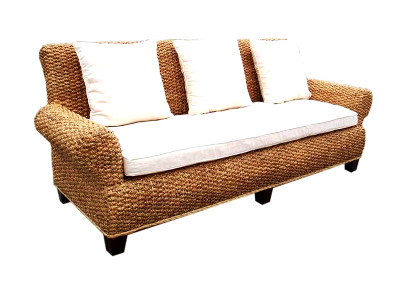 Selena Wicker Sofa 3 Seaters