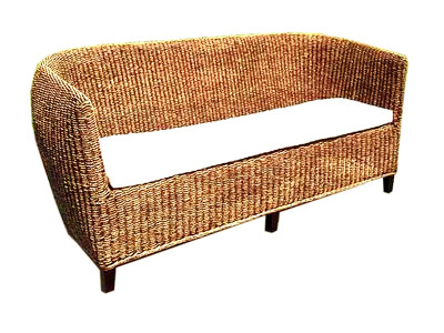 Gary Wicker Sofa 3 Seaters