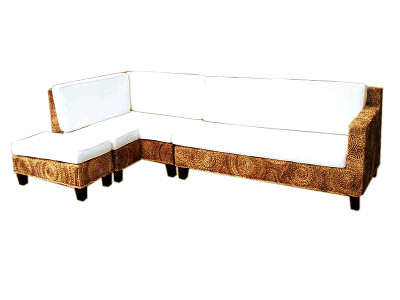 Erlina Wicker Corner Sofa
