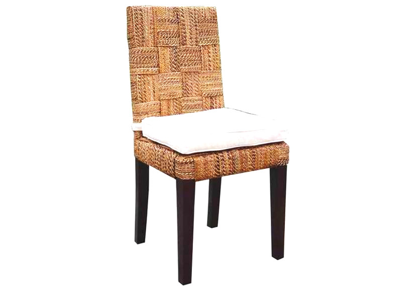 Mike Wicker Chair With Cushion