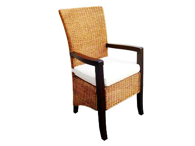 Tropical Rattan Arm Chair