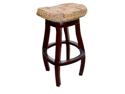 Vineta Wicker Barstool
