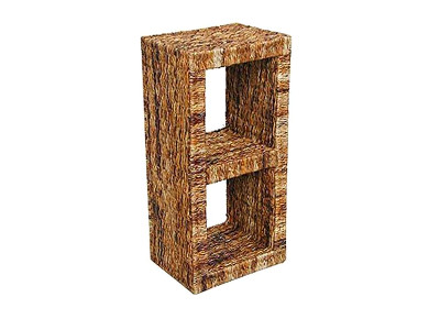 Pandawa Wicker 2 Shelves