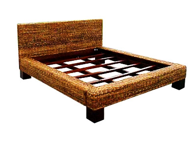 Sheva Wicker Bed