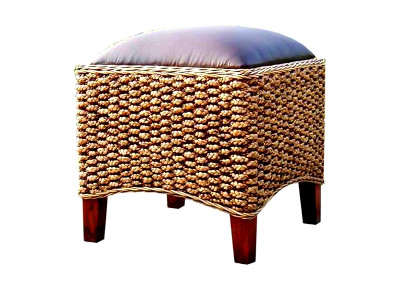 Melina Wicker Stool With Osca
