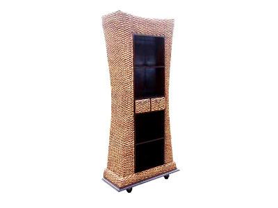 Tongkonan Wicker Bookcase