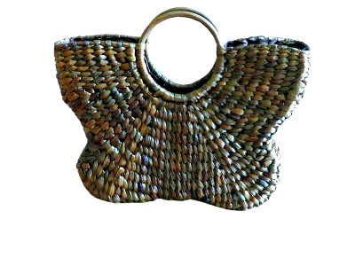 Butterfly Wicker Bag