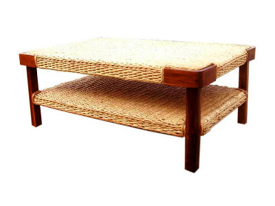 Fiona Wicker Coffee Table