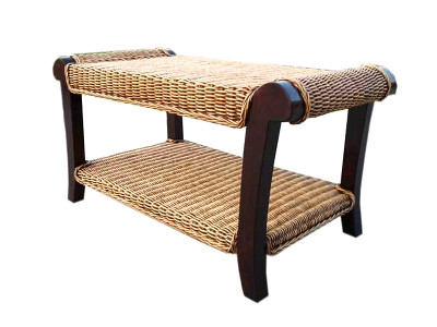 Magdalena Rattan Coffee Table