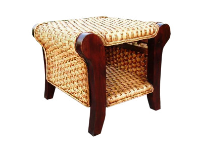Carusel Rattan End Table