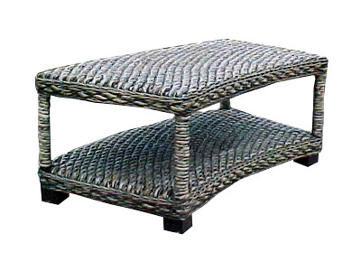 Khatulistiwa Wicker Table