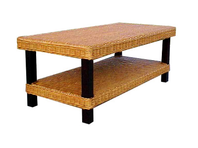 Rossana Rattan Coffee Table