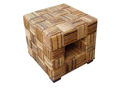 Reno Rattan End Table