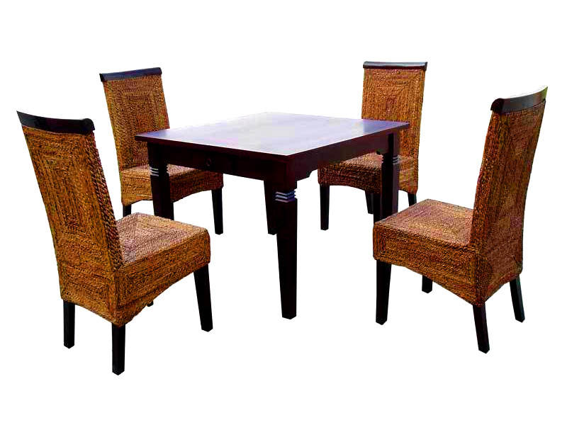 Ashley Wicker Dining Set