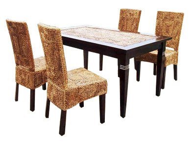 Ceska Wicker Dining Set