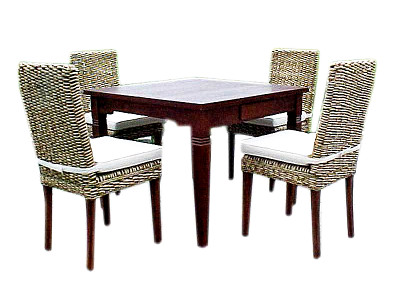 Monica Banana Dining Set