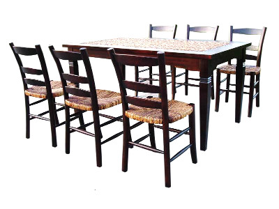 Dakota Wicker Dining Set