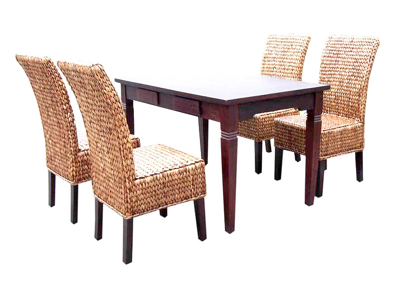Bella Wicker Dining Set