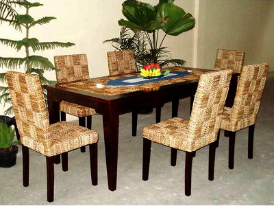 New Mike Wicker Dining Set