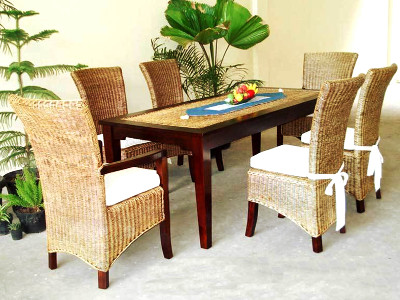 New Tropical Dining Set