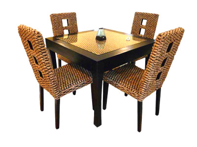 Nevada Wicker Dining Set