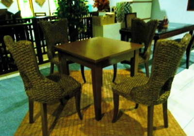 Champion Wicker Dining Set