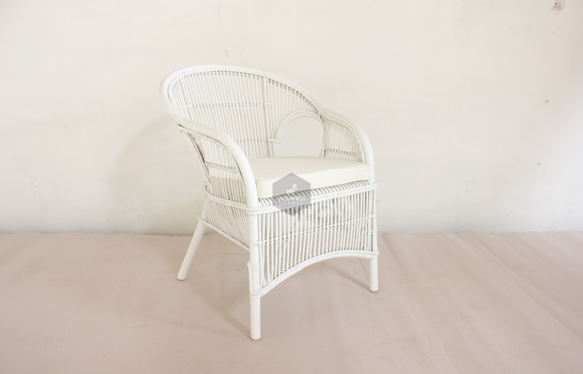 Becky Rattan Arm Chair