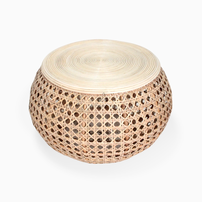 Ceria Rattan Round Coffee Table