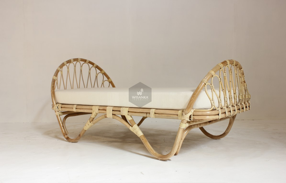 Ceylon Rattan Kids Bed