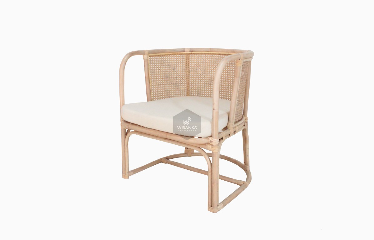 Diane Rattan Arm Chair