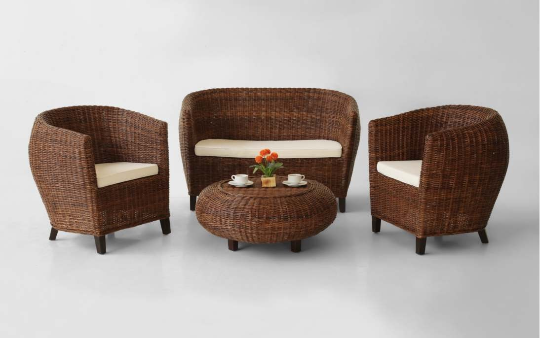 Gary Wicker Living Set