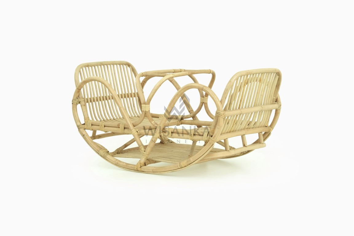 Makika Kids Rattan Rocking Ship