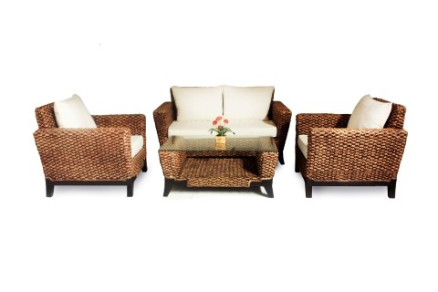 Marshal Wicker Living Set