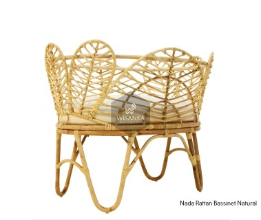 Nada Rattan Bassinet Natural