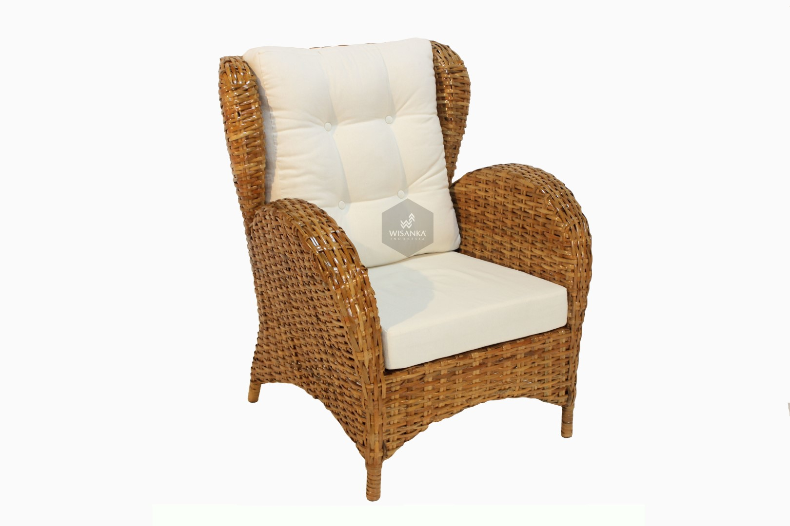 Nancy Rattan Arm Chair