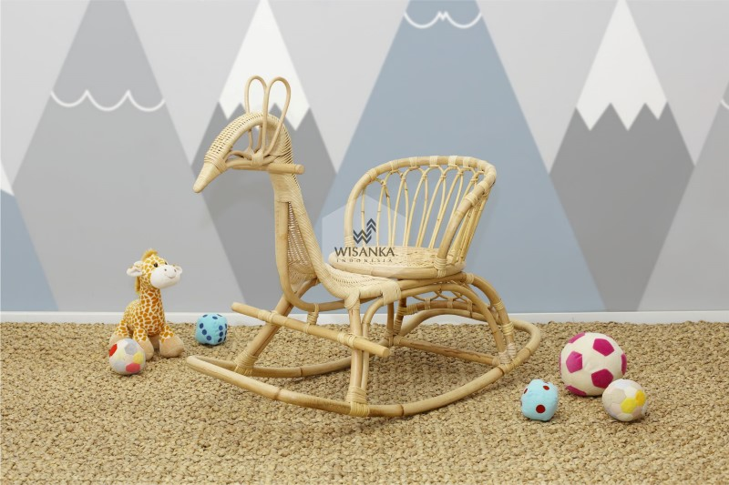 Tora Rattan Rocking Chair
